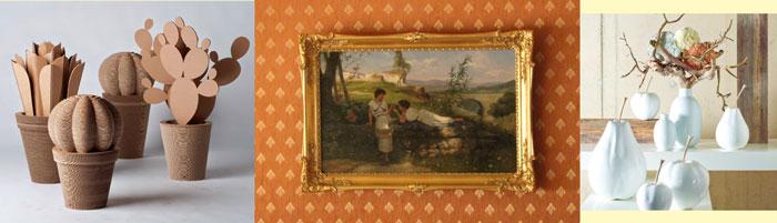 Картина маслом и сувениры декора для интерьера