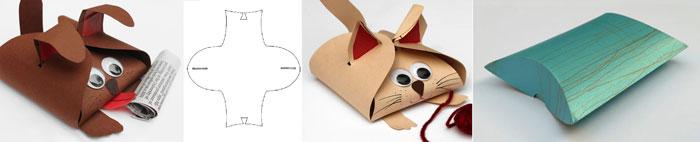 Способы деской упаковки подарков