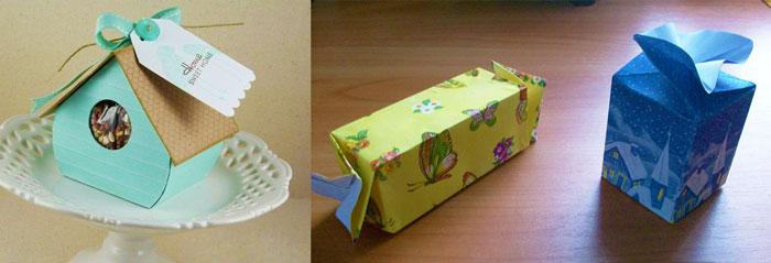 Виды детской упаковки подарков
