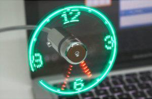 USB вентилятор в подарок деловой леди