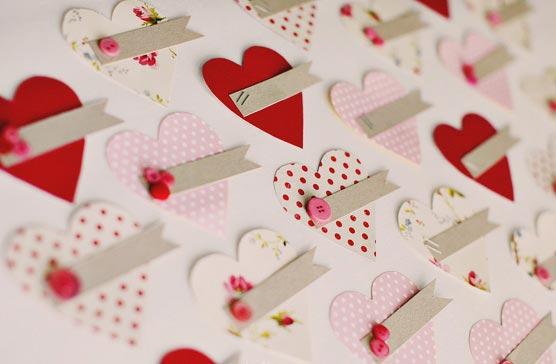 Валентинки самодельные