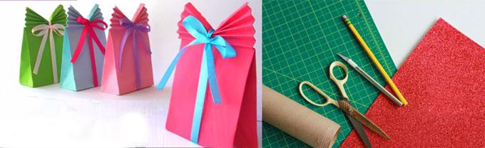 Объеманя упаковка в форме пакета