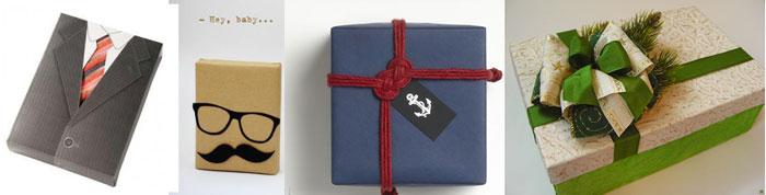 Идеи упаковки подарка мужчине