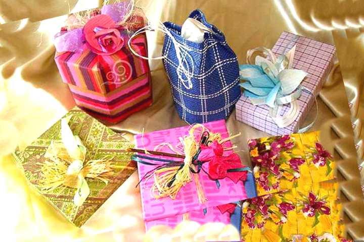 Виды упаковки подарков