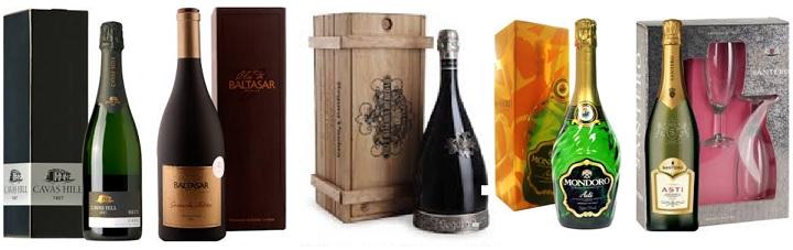 Вина в подарочных упаковках