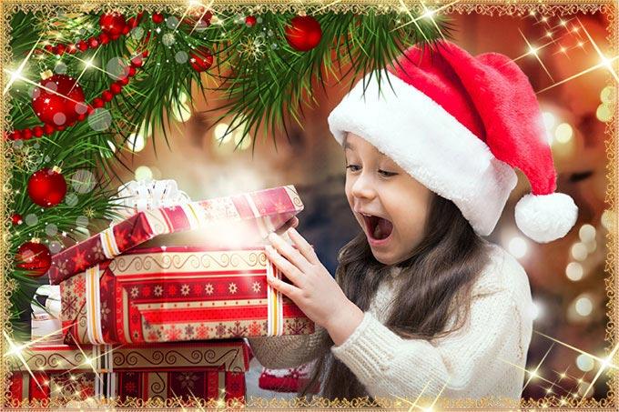 Девочка и желанный подарок