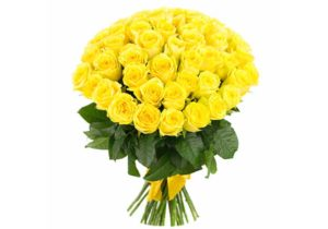 Розы желтого цвета