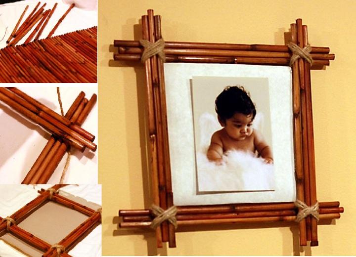 МК фоторамки из бамбука
