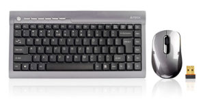 Беспроводная клавиат ура и беспроводная мышь