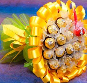 Букет из конфет в подарок