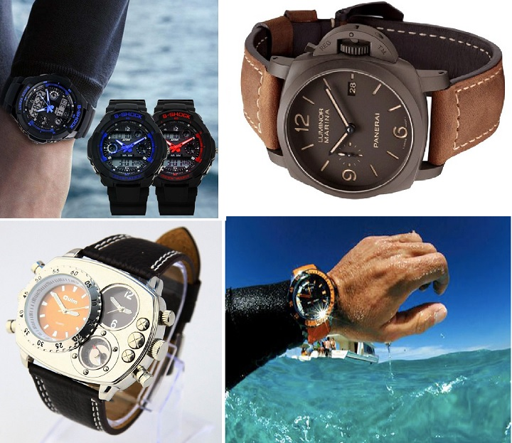 Разнообразные часы для подарка папе