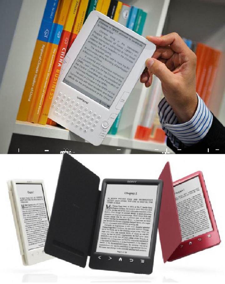 Варианты электронных книг