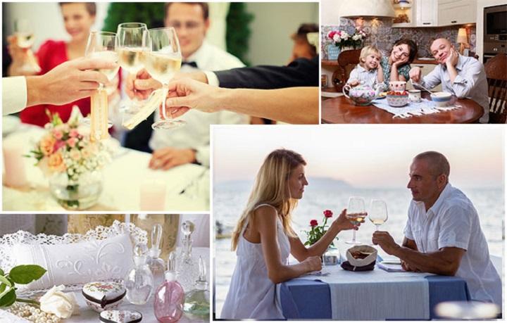 Как сервировать стол на свадьбу
