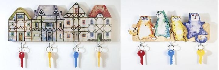 Ключницы для входной двери
