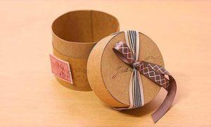 Коробка для подарка из картона своими руками