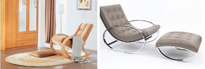 Два варианта кресла-качалок