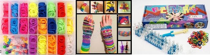 Наборы для вязания браслетов