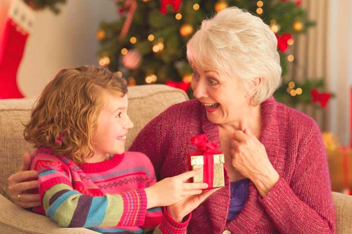 Подарок бабушке на Новый год