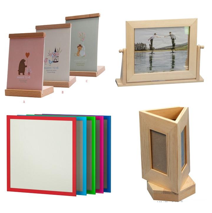 Рамки для фото из дерева