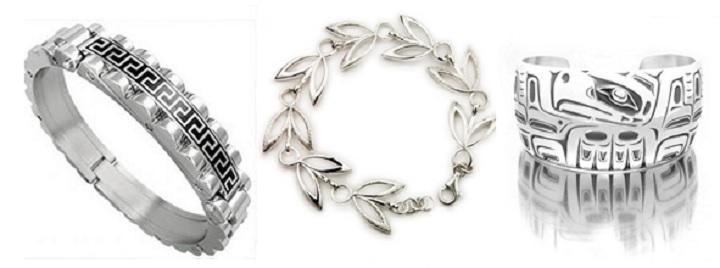 Серебряные браслеты