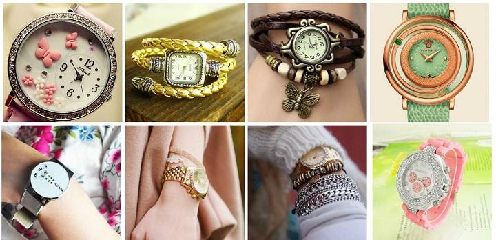 Модные часы 8 видов