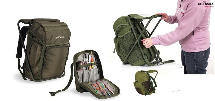 Стул-рюкзак для рыбака