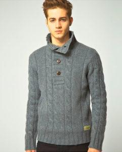 Вязанный свитер любимому