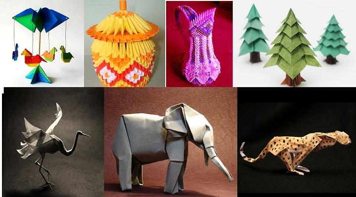 Удивительные вещи из оригами