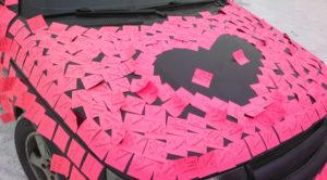 Автомобиль в признаниях любви