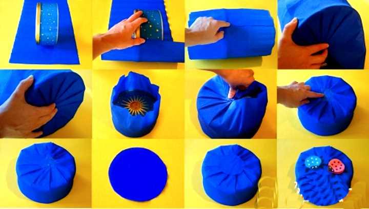 МК упаковка круглой коробки
