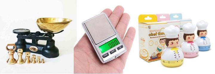 Весы и таймер для кухни