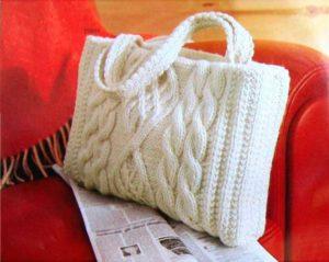 Вязанная сумочка для мамы