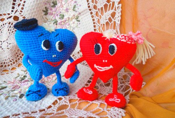 Подарок на День Святого Валентина, связанный своими руками