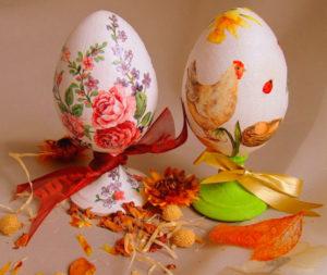 Яйца, расписанные своими силами