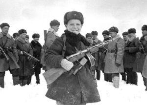 15-летний во времена Великой отечественной войны