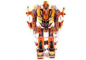 З-D пазл для создания объемных моделей робота
