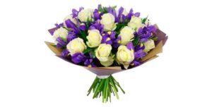 Букет цветов маме на юбилей