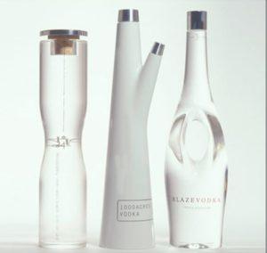 Дизайнерская бутылка в подарок
