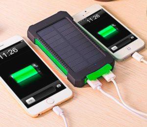 Зарядные устройства для телефона на солнечных батарейках