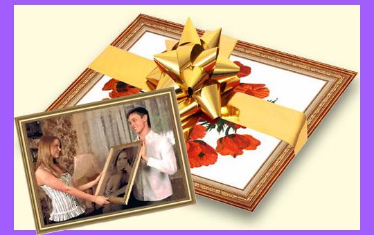 Картины в подарок