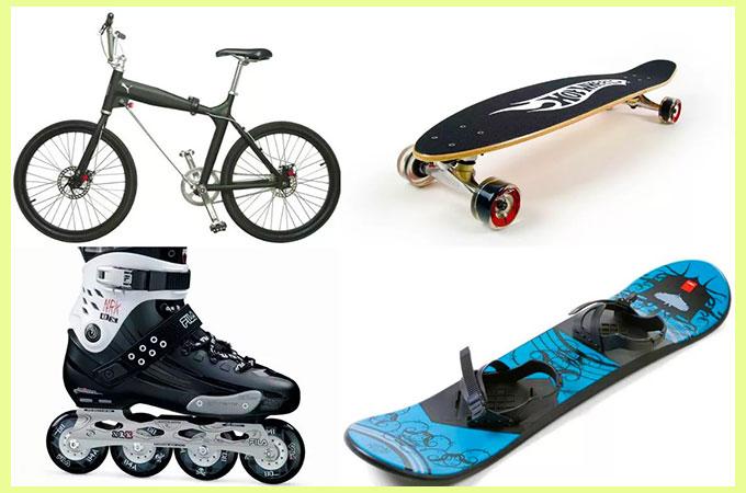 Велосипед коньки роликовые, скейтборды