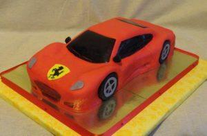 Торт с ключами внутри