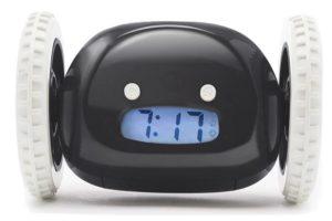 Убегающий будильник для коллеги-сони