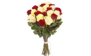 Букет из роз в подарок жене