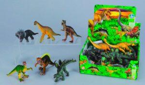 Фигурки динозавров для малыша