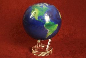 Самовращающийся глобус