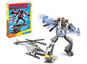 конструкторы для сбора робота-трансформеров