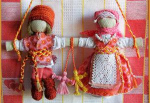 Куклы — неразлучники в подарок на свадьбу