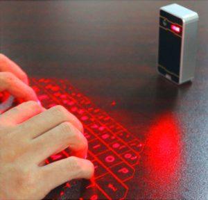 Лазерная клавиатура в подарок