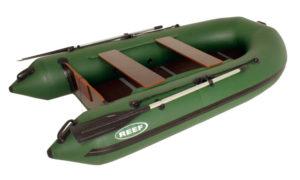 Надувная лодка в подарок рыбаку